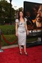 Catherine keener arriving at the soloist premiere at paramount studios in los angeles california on april Stock Images