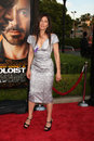 Catherine keener arriving at the soloist premiere at paramount studios in los angeles california on april Stock Photo