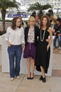 Catherine Keener, Michelle Williams, Samantha Morton Stock Images