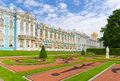 The catherine palace great of tsarskoye selo pushkin near st petersburg russia Stock Image