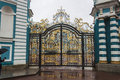 Catherine palace portal the royal in saint petersburg russia Stock Photo