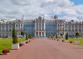 Catherine palace in saint petersburg located the town of tsarskoye selo near russia Royalty Free Stock Image