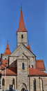 Catholic Basilica St. Vitus in Ellwangen, Germany. Royalty Free Stock Photo