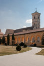 The Catholic Cathderal of Alba Iulia Stock Photo