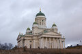 Catholic cathedral in Helsinki Royalty Free Stock Photo