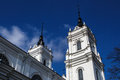 Catholic Cathedral in Ludza Royalty Free Stock Photo