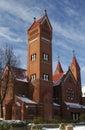 Catholic chapel Στοκ φωτογραφία με δικαίωμα ελεύθερης χρήσης