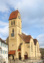 Catholic church in blumenfeld germany Royalty Free Stock Photos
