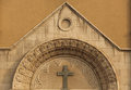 Catholic church detail of qingdao china the st emil is the largest in qingdao shandong province the Stock Photos