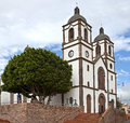 Catholic church in ingenio gran canaria spain Stock Photography