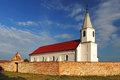 Catholic church ini a slovakia Royalty Free Stock Image