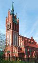 Catholic church in Kaliningrad Royalty Free Stock Images