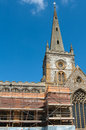 Catholic church renovation of the in stratford england Stock Photos