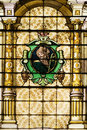 Catholic Church Stained Windows Stock Images