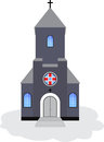 Catholic church vector illustration Stock Photos