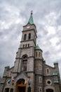 Catholic Holy Family Church in Krupowki Street in Zakopane, Poland Royalty Free Stock Photo