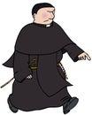 Catholic monk