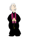 Catholic priest Stock Photo