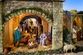 Catholicism den christmas the traditional image of in created annually a holiday embodiment Royalty Free Stock Image