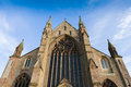 Cathredral in worcester of christ and the blessed virgin mary worcestershire england uk Royalty Free Stock Photo