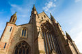 Cathredral in worcester of christ and the blessed virgin mary worcestershire england uk Royalty Free Stock Photography
