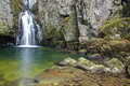 Catrigg force waterfall cascade at near settle Royalty Free Stock Photography