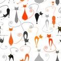 Gatos patrón su diseño