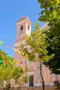 Cattedrale santa maria della neve cathedral in nuoro sardinia Stock Photo