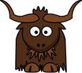 Cattle Like Mammal, Horn, Head, Cartoon