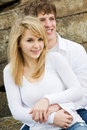 Caucasian couple in love Royalty Free Stock Photo