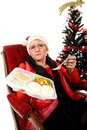 Caucasian middle aged woman, loneliness Royalty Free Stock Photos