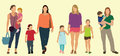 Caucasian mothers