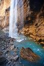 Caucasian waterfalls-5 Stock Images