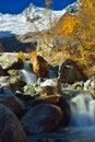 Caucasus in autumn Royalty Free Stock Photo