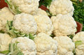 Cauliflower close up of fresh Royalty Free Stock Photos