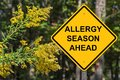 Caution - Allergy Season Ahead