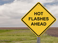 Caution - Hot Flashes Ahead Royalty Free Stock Photo