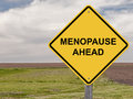 Caution - Menopause Ahead Royalty Free Stock Photo