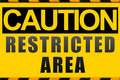 Caution sign Stock Images