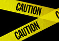 Caution tape Stock Images