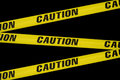 Caution tape Royalty Free Stock Images