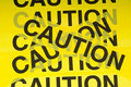 Caution Tape Background Royalty Free Stock Image
