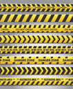 Caution yelow tape set