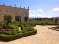 Cavalieri garden in boboli florence and porcelain museum italy Royalty Free Stock Photo