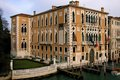 Cavalli franchetti palace in the grand canal of venice Stock Photo