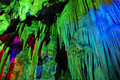 Cave colorful in shanxi china Stock Photos
