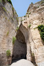 Cave Ear of Dionysius in Syracuse, Italy Royalty Free Stock Photography
