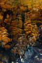Cave formations Royalty Free Stock Photo