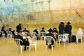 The Cave Synagogue in Jerusalem Western Wall Royalty Free Stock Photography