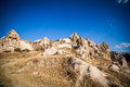 Caves in Cappadocia, Turkey Royalty Free Stock Photo